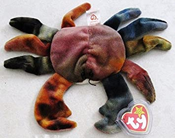 Claude the Crab - McDonalds Ty Teenie Beanie MIP - 1999 #09 ...