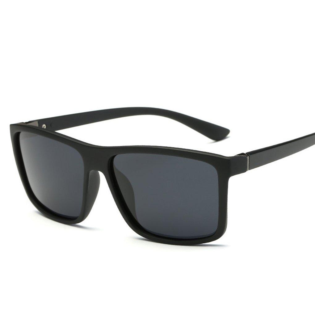 Bobury Lentes cuadradas polarizadas de los hombres UV400 que conducen los deportes Eyewear Eyeglasses