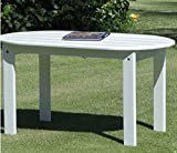 Multiuse Coffee Table, White Color, Solid Wood Acacia Material, Practical, Traditional, Wide, Multi-Purpose Durable And Sturdy,, Ideal Outdoor Complement, Backyard Garden Porch & E-Book.