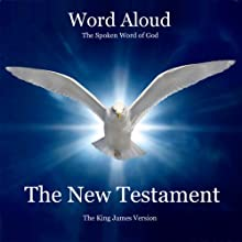 The King James Bible: The New Testament Audiobook by  Open Book Audio Narrated by Oliver Peers