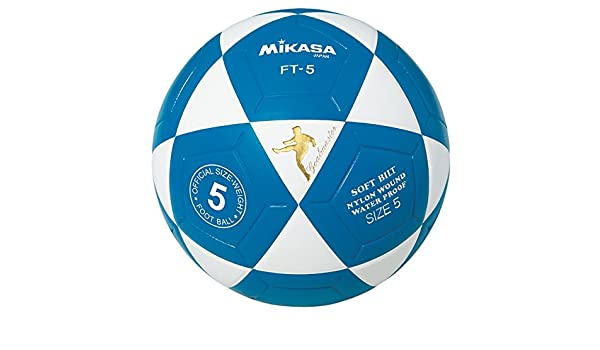 adidas Mikasa FT5 Maestro De Meta Balón De Fútbol (Azul/Blanco De ...