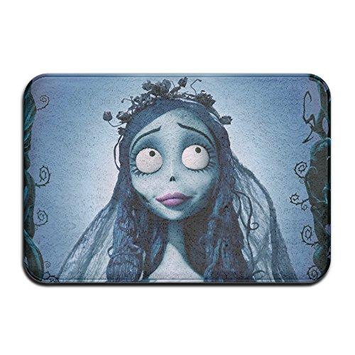 Halloween The Corpse Bride Anti-slip House Garden Gate Carpet Door Mat Floor Pads