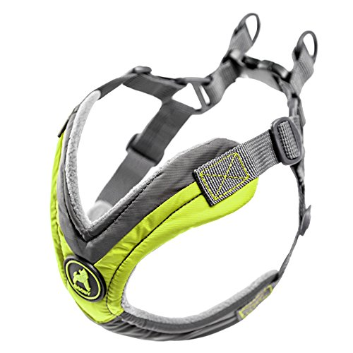Picture of Gooby Trekking Memory Foam Harness & Comfort for Dogs, Medium, Green