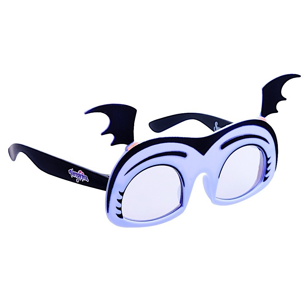 823e073e6dfb Amazon.com  Sun-Staches Costume Sunglasses Lil  Characters Vampirina Dark  Lens Party Favors UV400  Toys   Games
