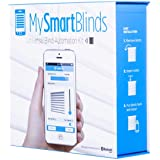 Blinds Automation Kit, transform Ordinary Blinds into Smart automated Window Blinds. iOS & Android Compatible.
