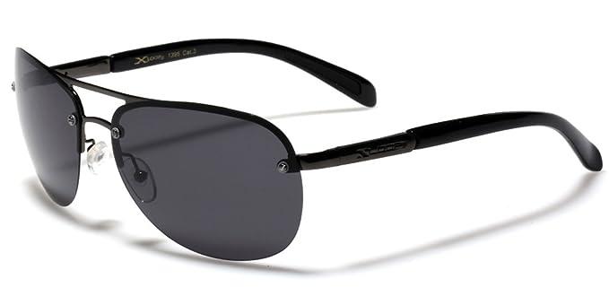 X-Loop Gafas de sol polarizadas sin borde para aviador, pesca, golf,