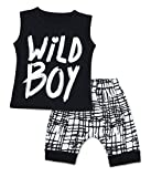 3 Style Baby Boys Clothes Set Wild Boy T-Shirt Tanks Tops and Shorts Pants Outfits Summer Spring