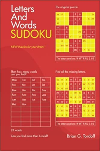 letters and words sudoku brian tordoff 9781499056471 amazon com