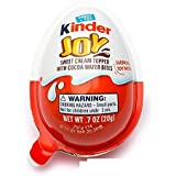 Kinder Joy Chocolate Eggs with Surprise Toy Inside: 15-Piece Box