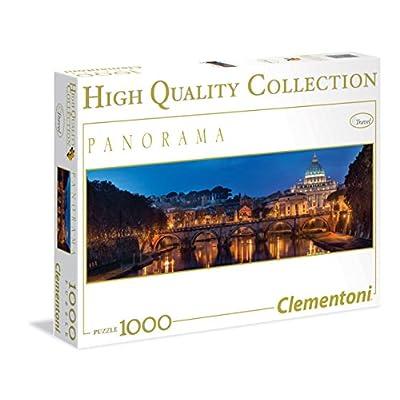 Clementoni 39343 Puzzle Panorama Roma 1000 Pezzi Multicolore