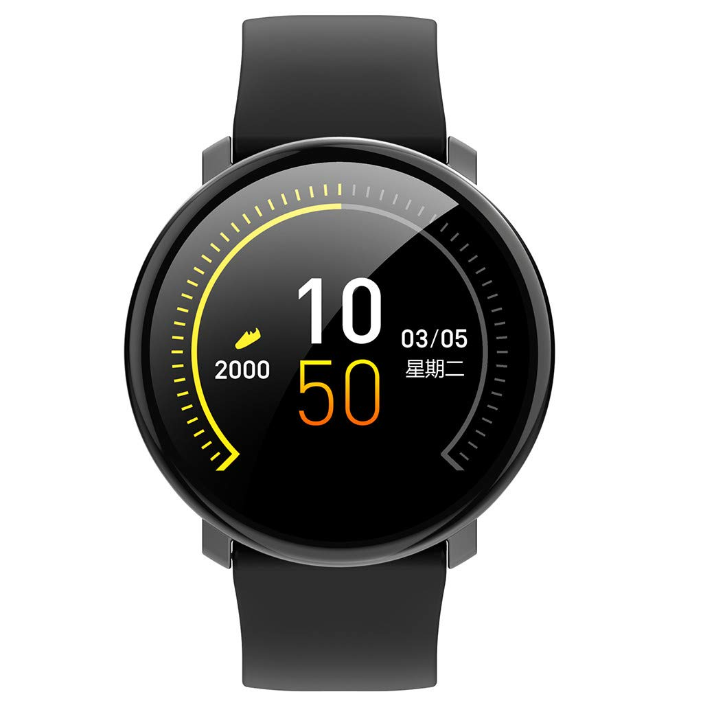 WELCOMEUNI Smart Watch for Android iOS Sports Fitness Calorie Wristband Fitness Tracker Watch Smart Bracelet Wristband