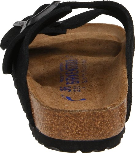 Birkenstock Arizona Soft Footbed Black Suede Regular Width - EU Size 35 / Women's US Sizes 4-4.5 by Birkenstock (Image #2)