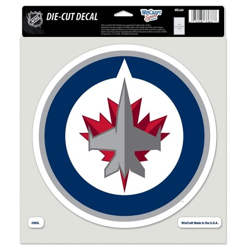 NHL Winnipeg Jets Perfect Cut Color Decal, 8