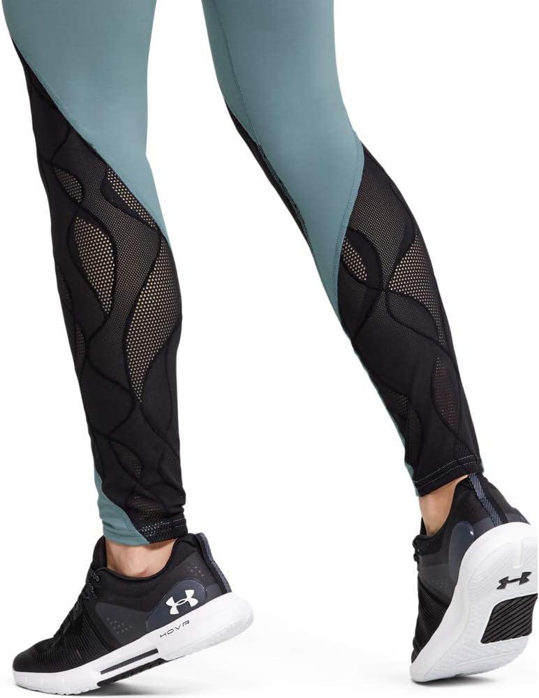 Under Armour Rush C/&s Jacquard Legging Ankle Legging