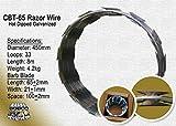Razor Wire Razor Ribbon Barbed Wire 18' 1 Coil 50 Feet Per Roll