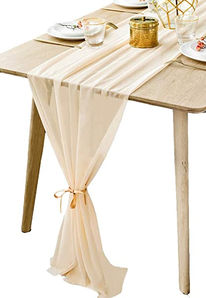 Amazon Boxan Gorgeous Light Gold Table Runner 30x120 Inch For