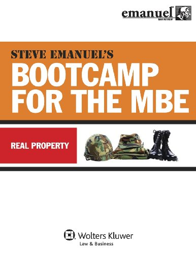 MBE Bootcamp: Property (Bootcamp for the (Mbe Boot)