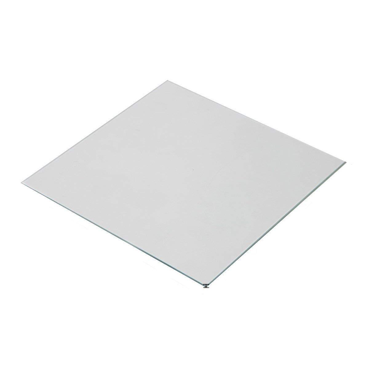 Imprimantes 3D Plateforme en verre borosilicate /épaisse de 140mm 3mm pour imprimantes 3D Afinia et UP Wisamic Lit chauffant en verre borosilicate
