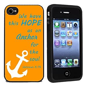 IP4 Religious Hebrews 6:19 Bible Verus For Apple iPhone 4 or 4s Case / Cover All Carriers by mcsharks