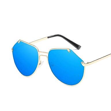 ANAZOZ Gafas de Sol Lente Azul Gafas Sol Mujer UV400 Gafas ...