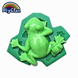 3 style Frog fondant cake mold silicone baking tools pudding dessert molds for cake decorating chocolates soap mould F0213QW30[F0213QW]