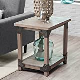 Belham Living Jamestown Rustic End Table For Sale