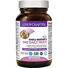 If you're looking for the right multivitamin for women over 40, it's helpful to know there are differences between raw or USP multivitamins, gummy vitamins, and whole food fermented multivitamins like New Chapter's Every Woman's One Daily 40+...