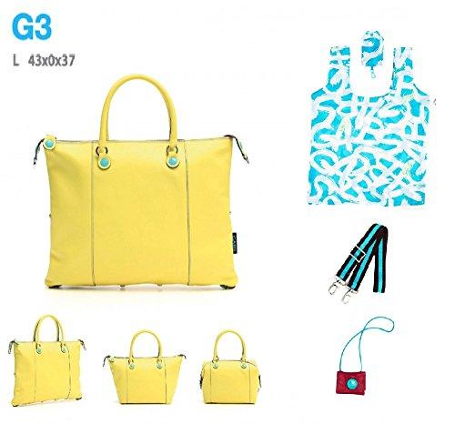 Eses i17 handle Walnut Bag G3 Noce Gabs Women's L Taglia Top Ctq7B