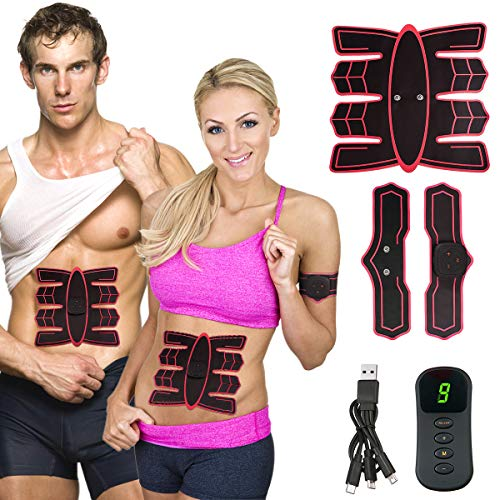 Slimerence ABS Muscle Toner Abs Trainer for Women Men, Body Training Workout Machine, Fitness Equipment Muscle Trainer for Abdomen Arm Leg