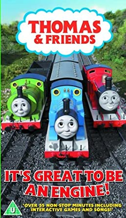 Thomas and Friends  Its Great to Be An Engine VHS Michael