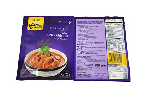 Indian Butter Chicken (Instant Makhani Sauce Mix) - 1.75oz (Pack of 12) ()