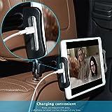 Car Headrest Mount, Lamicall Tablet Headrest
