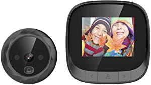 "OWSOO Smart Door Viewer,Doorbell Viewer,Video Doorbell,2.4"" TFT Digital Peephole Viewer,Door Eye,Doorbell with Camera,Door Camera Monitor,IR Night Vision,Photo Taking for Home Security"