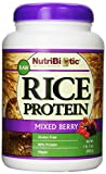 Nutribiotic Rice Protein, Mixed Berry, 21 Ounce