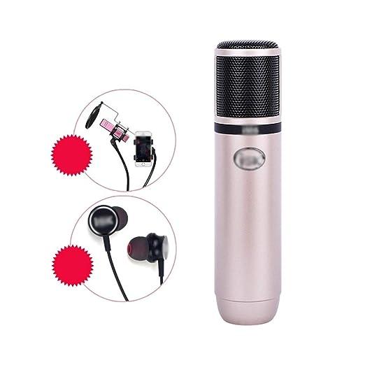 Xxw K Song Teléfono móvil Micrófono de Condensador dedicado Ancla ...