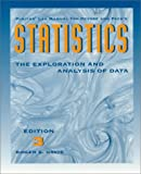 Statistics : Exploration and Analysis, Devore, 0534228992