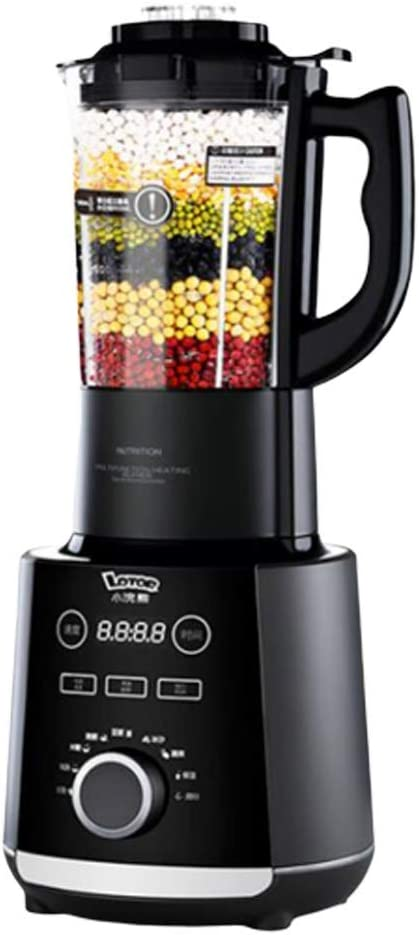 ZXL Juicer, Blender 1.2L Juicer with 8 Stainless Steel Blade Noise Prevention and Shockproof, 12-Hour Reservation Function, One-Button Automatic Cleaning,Nine Functions