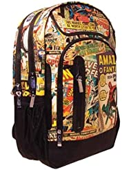 Marvel Retro Backpack with 4 Compartments