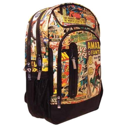 Marvel Retro Backpack with 4