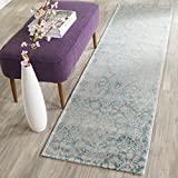 Cheap Safavieh PAS403B-10 Passion Collection Area Rug, 10′ x 14′ , Turquoise/Ivory