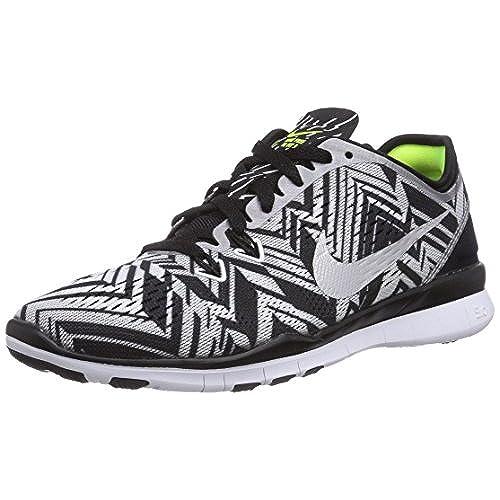 Free De 0 Mujer 80 Nike 5 5 Tr Print Zapatillas Para Fit BxdZPwCq