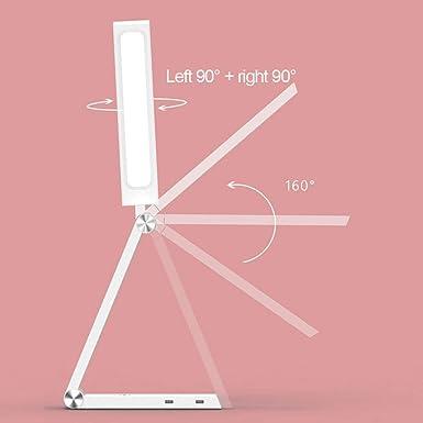 CUIRUILIAN LED Pliante Protection Des Yeux Lampe De Table