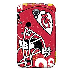 S4 Scratch-proof Protection Case Cover For Galaxy/ Hot Kansas City Chiefs Phone Case