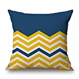 Loveloveu Throw Cushion Covers 16 X 16 Inches / 40 By 40 Cm(2 Sides) Nice Choice For Bedding,adults,lounge,office,dinning Room,her Geometric
