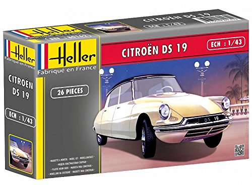Heller Citroen DS19 Car Model Building Kit