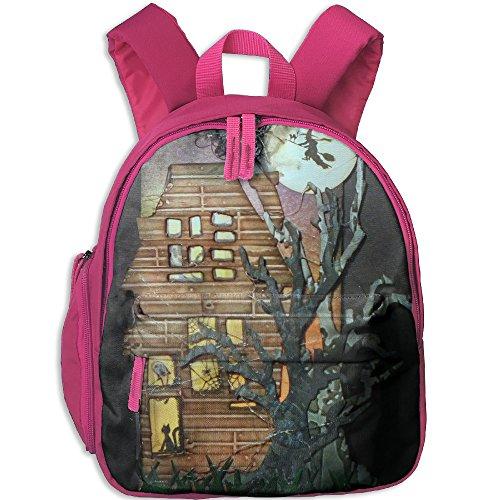 Backpacker Halloween Costume (AXAM Spooky Halloween Luggage Basic Halloween Printing Backpack(with Pockets))