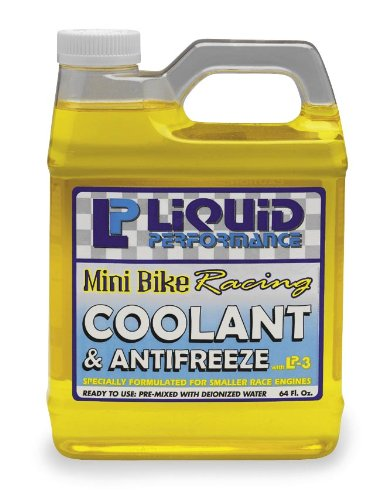 Liquid Performance Racing Coolant and Anti-Freeze - 64oz. Mini Bike 0198
