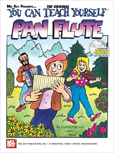 Book Mel Bay You Can Teach Yourself Pan Flute by Costel Puscoiu (2002-11-05)