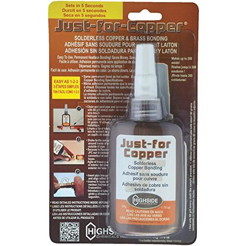Just For Copper JFC050 1.85 Ounce Solderless Copper Bonding