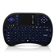 Amazon Lightning Deal 96% claimed: (Backlit,Updated)Seneo LED Mini Touchpad Handheld Keyboard with USB Adapter,for Windows, Android TV box,Smart TV Box,Xbox360/ps3,Mac OS,Multi-media
